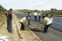 Ciclista muere arrollado en el Estado Bolivar