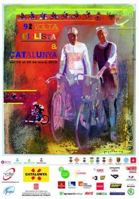Video kilometros finales de la 1ra Etapa de la Vuelta a Catalunya