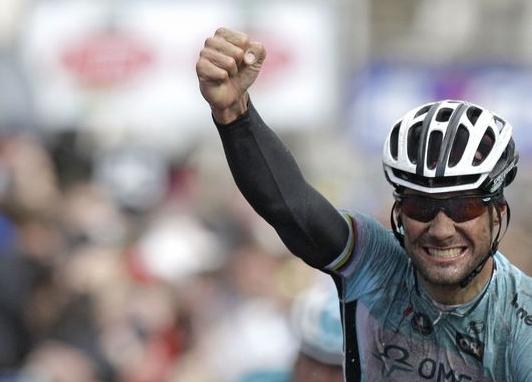 Tom Boonen (Omega Pharma) gana por quinta vez el Gran Premio E3 Harelbeke Oscar Freire 2do