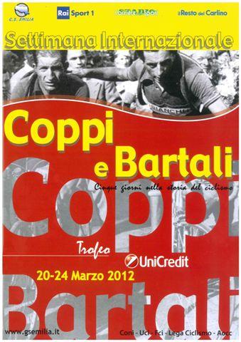 Clasificaciones Finales de la Coppi Bartali 2012