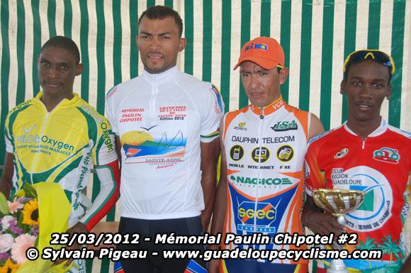 Venezolano Freddy Vargas 2do en la Mémorial Paulin Chipotel 2012 en Guadalupe