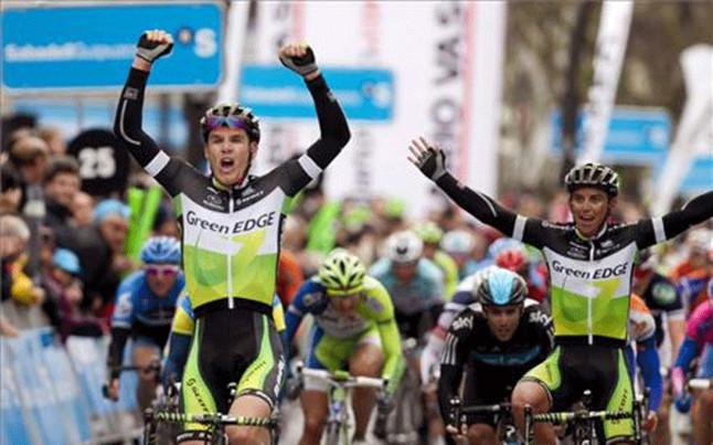 sudafricano Daryl Impey gana 2da  etapa de la Vuelta al País Vasco