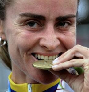 Colombiana María Luisa Calle clasificó para Londres 2012 en el ómnium