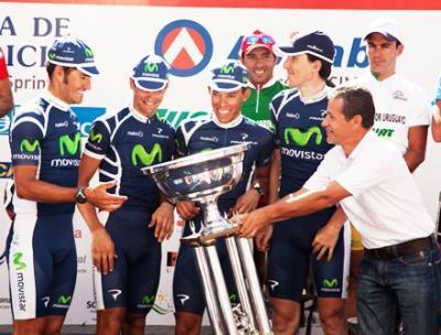 Movistar Team campeón por equipos en Uruguay