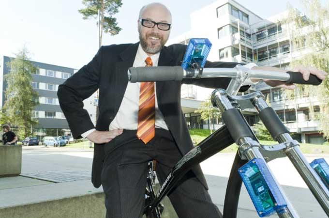 Crean bicicleta con frenos inalámbricos