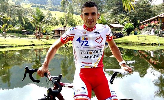 Juan Pablo Villegas 4-72 Colombia ganó la primera etapa de la Vuelta a Cundinamarca