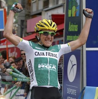 Vuelta a Asturias: Javier Moreno gana la 2da Etapa y Amets Txurruka, del Caja Rural, se titula Campeon