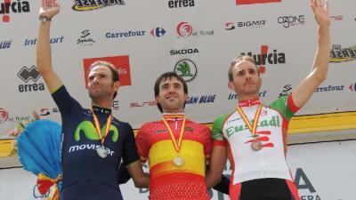 Ion Izagirre, campeón de España por delante de Valverde