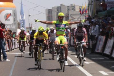 Italiano Francesco Chicjy es el primer Líder de la Vuelta a Venezuela / Resultados Oficiales