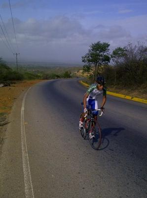 Ciclista Anaquense Cristian Guerrero a la Vuelta a Yacambu