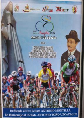Rutometros y Altimetrias de la  Vuelta a Trujillo 2015