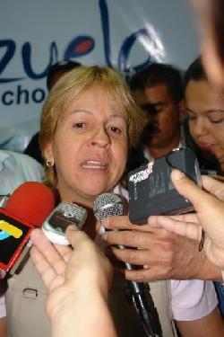 Excomisaria de Ciclismo Juana Suárez, nombrada  viceministra del Deporte