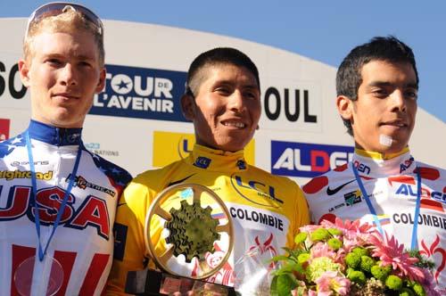 El líder Quintana se exhibe en Risoul y gana el Tour del Porvenir
