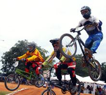 Carabobo y Bolívar se llevan los honores en la VI Válida de BMX