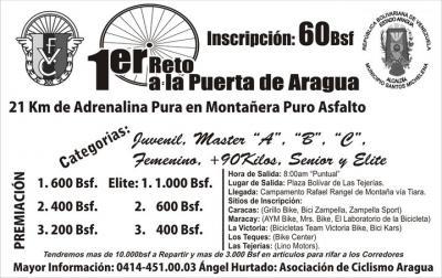 1er Reto a la puerta de Aragua