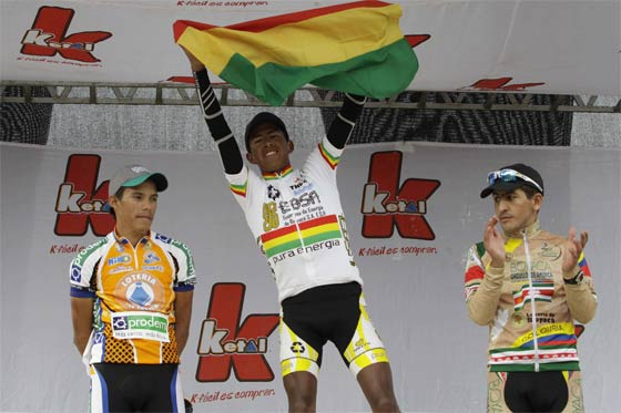 Oscar Soliz Campeon de la Vuelta a Bolivia