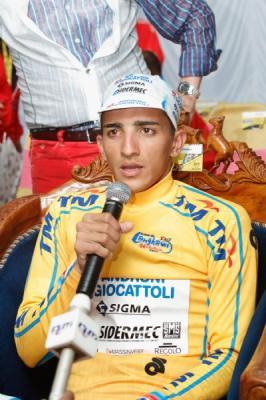 venezolano Jonathan Monsalve (Androni Giocattoli) continúa líder de la Vuelta a Langkawi