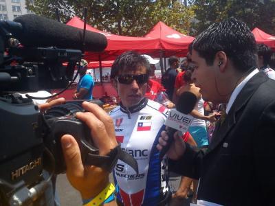 El chileno Marco Arriagada Tricampeon de la Vuelta a Chile