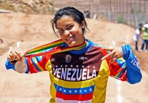 Venezolana Stefanie Hernández 3ra en Mendoza Argentina