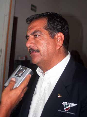 Edgardo Hernández presidente de la Federación Mexicana de Ciclismo dice que no ha Renunciado