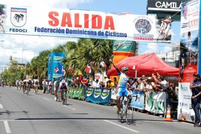 Dominicano Augusto Sanches gano hoy la I Etapa de la Vuelta Independencia Nacional