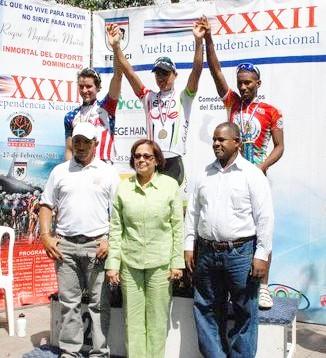 Colombiano Jaime Castañeda gana la VII Etapa de la Vuelta Independencia