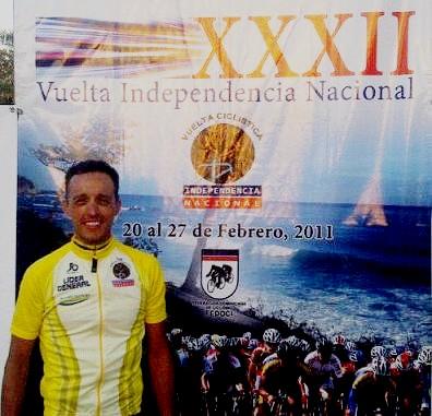 Venezolano Tomas Gil Campeon de la XXXII Vuelta Independencia Nacional en Republica Dominicana