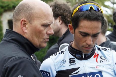 Contador gana la II Etapa de la de la Vuelta a Murcia y es el nuevo lider