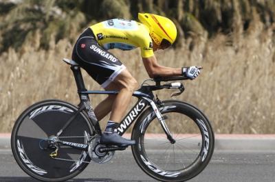 Contador gana la Crono y es Campeon de la Vuelta a Murcia