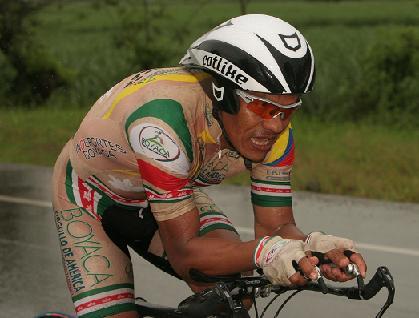 Se despidio del Ciclismo el colombiano Israel Ochoa