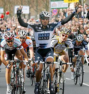 El Argentino Juan Jose Haedo gana III Etapa de la Tirreno Adriatico