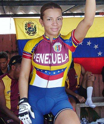 Venezolana Angie González participará en el Mundial de Ciclismo de Holanda