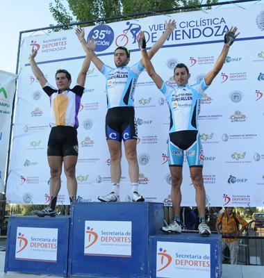 Marcos Crespo gana la IV Etapa de Vuelta a Mendoza y Juan Pablo Dotti es el nuevo Lider