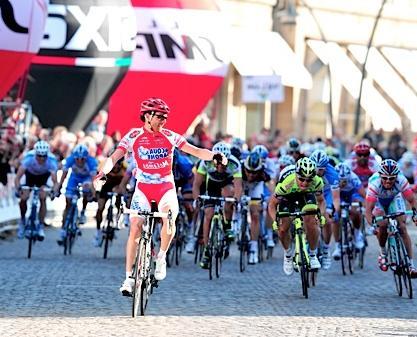 Claudio Corioni (ASA) gana II Etapa de la Coppi Bartali