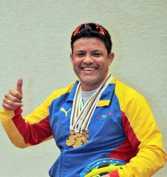 Ciclista Paralimpico Venezolano Víctor Hugo Garrido Márquez nombrado Consul en Bilbao
