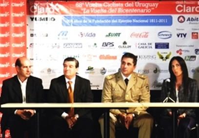 Presentada la 68ª Edición de la Vuelta Ciclista del Uruguay