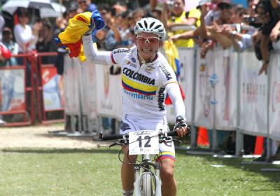 Ángela Parra logró casilla olímpica para Colombia