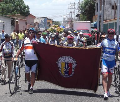 Ciclistas Cojedeños dan último adiós al presidente de la asociación Haroldo Herrera