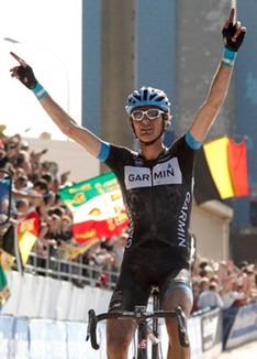 Belga Johan van Summeren gano la prestigiosa París-Roubaix