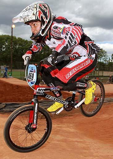 Venezolana Stefany Hernandez 7ma  en la BMX Supercross World Cup 2011 - Pietermaritzburg (RSA)