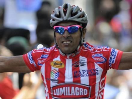 Argentino Darío Díaz, se adjudicó la 1ra etapa de la 68ª  Vuelta Ciclista del Uruguay