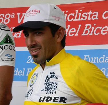 Argentino Claudio Flores, gana la 4ta Etapa de la 68 Vuelta Ciclista del  Uruguay
