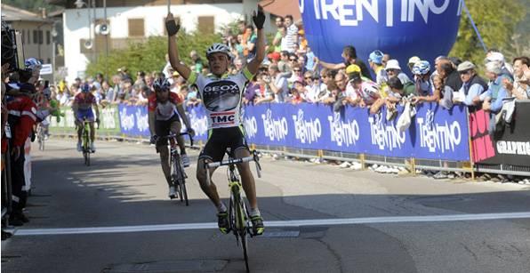 Clasificaciones conpletas tras la 3ra etapa del Giro del Trentino 2011