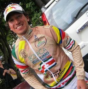 Colombiano Iván Casas gana la CRI y es el nuevo Lider de la Vuelta a Uruguay