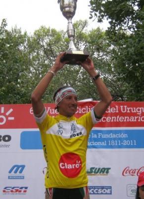 En la Vuelta del Uruguay Argentino Darío Díaz gana la Penultima Etapa y Casas se Mantiene de Lider