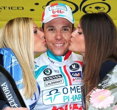 Gilbert desplaza a Cancellara como líder de la clasificación UCI