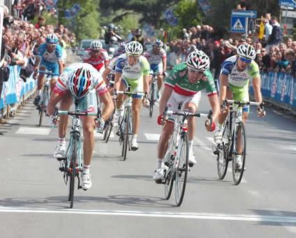 Angel Vicioso del Androni gana la GP Industria & Artigianato- Larciano 2011