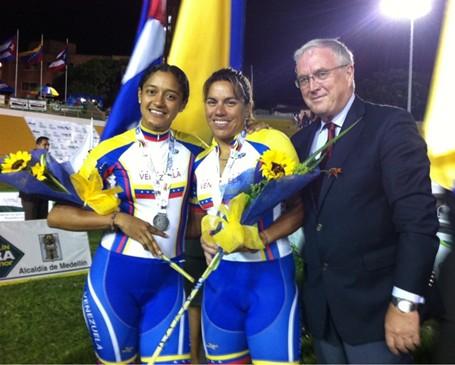 Venezolanas Daniela Larreal y María Esthela Vilera, Plateadas
