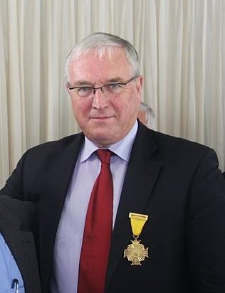 Orden al Mérito Deportivo Indeportes Antioquia para Patrick McQuaid.