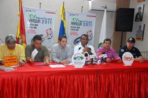 Del 29 de junio al 3 de julio se correra la XV Vuelta Aragua